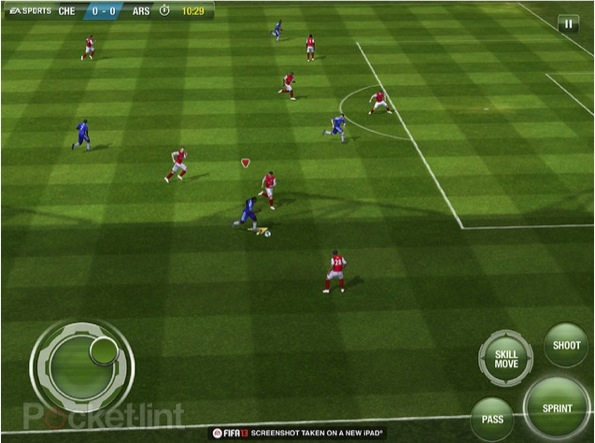 Arrivano in rete i primi screenshot di Fifa 13 per iOS