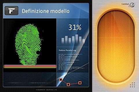riconoscimento delle impronte digitali iphone