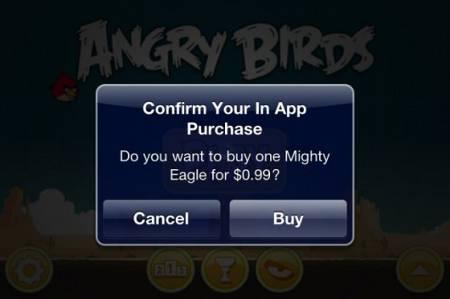 messaggio in-app purchase