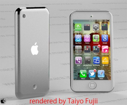 Il prossimo iPod Touch sarà un mix tra l'iPhone 4S e l'iPad?