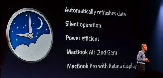 E' arrivato Power Nap per MacBook Pro Retina