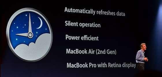 E' arrivato Power Nap per MacBook Pro Retina