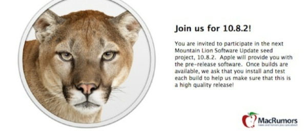 Mountain Lion 10.8.2: arriva la beta 2