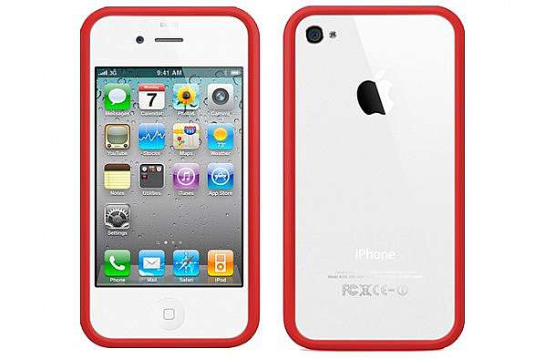 bumper rosso iphone