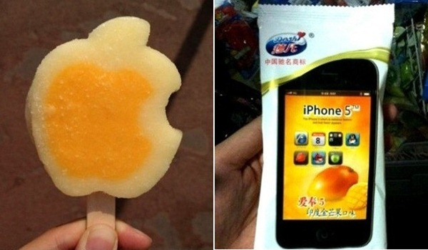 gelato cina iphone 5