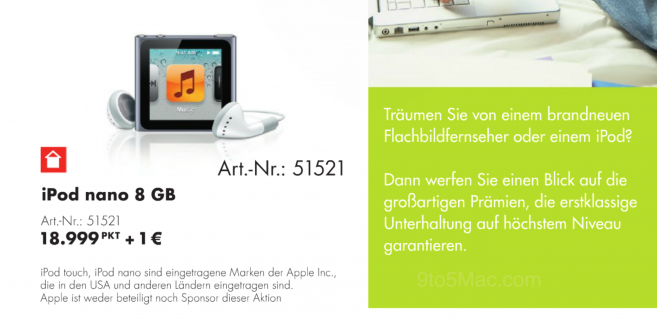 iPod Nano: calano le scorte in Germania