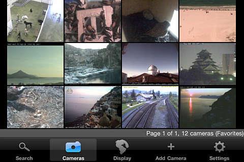 apple live cams pro app