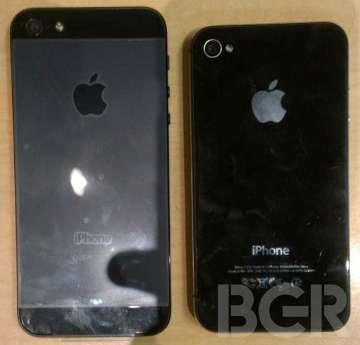 confronto retro iphone 5 e iphone 4s