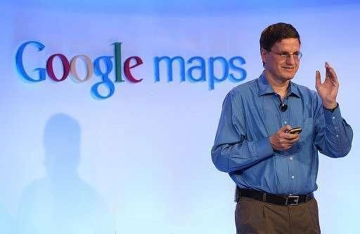 Brian McClendon Google Maps