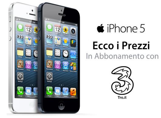 iphone 5 prezzi