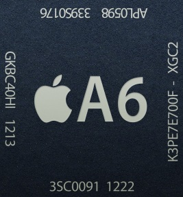 chip A6 iphone 5