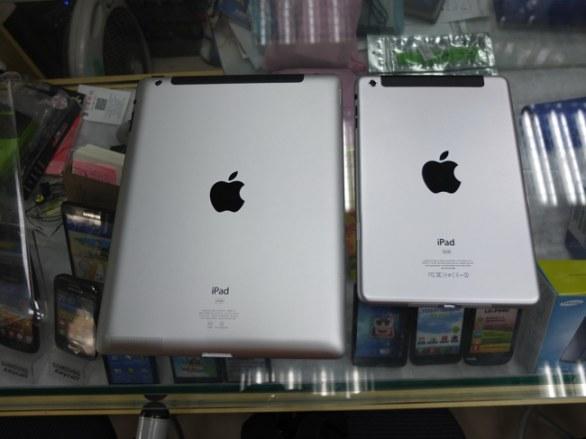 iPad Mini: foto ravvicinate dei mockup fisici