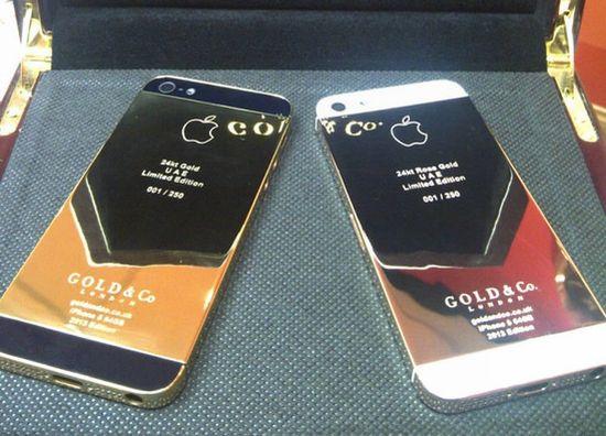 iphone realizzato in oro