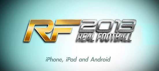 Real Football 2013 e' disponibile gratuitamente su App Store!