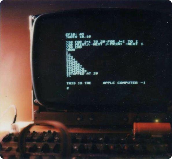 Apple-1 Jobs Wozniak