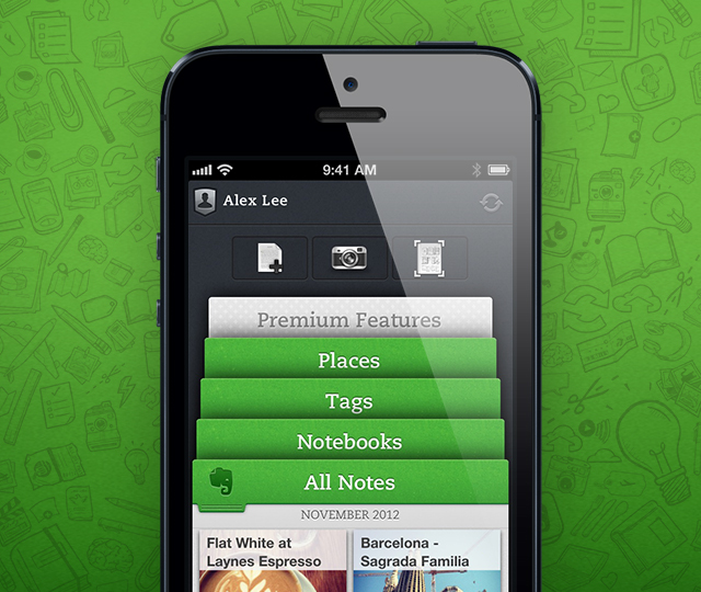 Evernote 5: disponibile ora per iPhone, iPad e iPod Touch