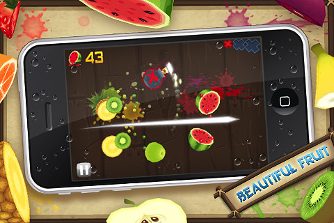 fruit ninja per iphone