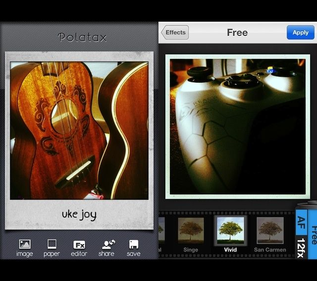 Polatax: per foto in stile Polaroid su iPhone e iPad