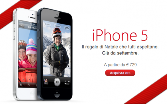 iPhone 5 Natale