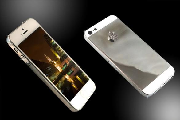 iPhone 5 platino