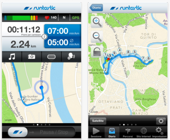 Runtastic Pro: download iPhone 5, ora compatibile