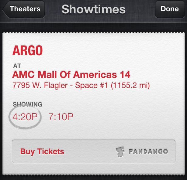 Siri: acquistare biglietti cinema con iOS 6.1