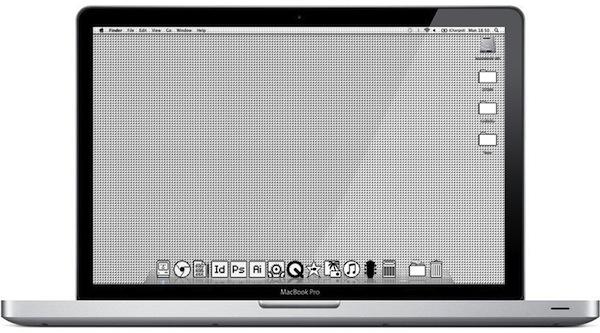 Apple icone vintage
