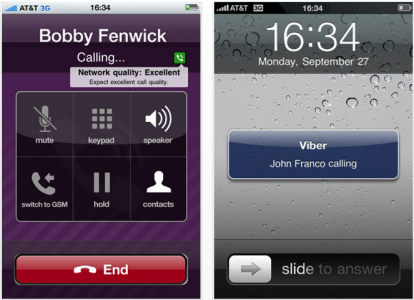 how to use viber on iphone 5