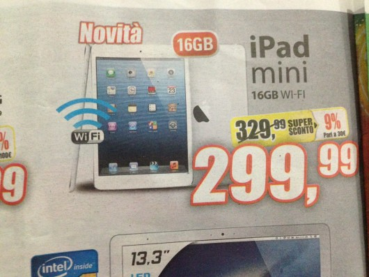 iPad Mini in offerta da Expert a 299€