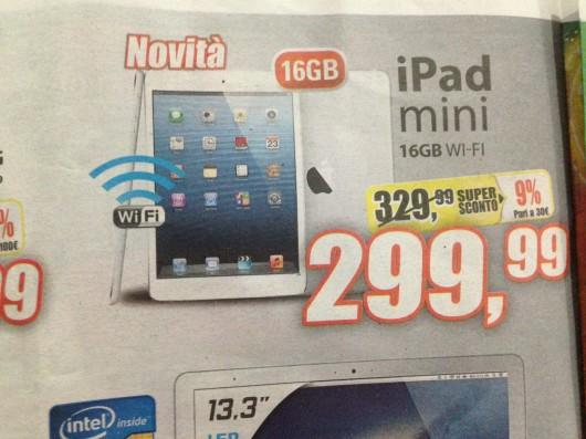 iPad Mini in offerta da Expert a 299€