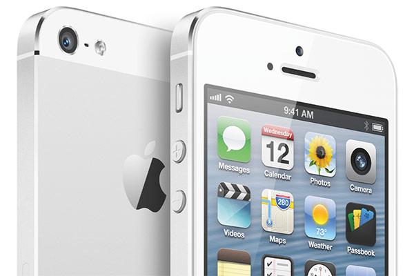 iPhone 5 bianco