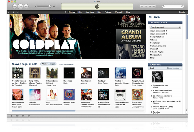 Apple: iTunes Store, sbarca in Russia ed altri 55 paesi