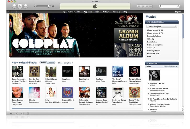 Il servizio iTunes Store approda in 42 nuovi paesi