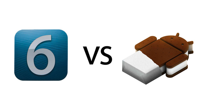 ios 6 vs android ice cream