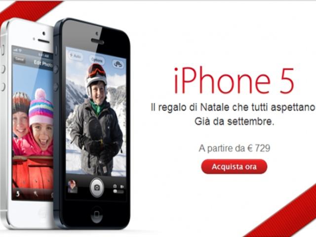 iPhone 5 natale