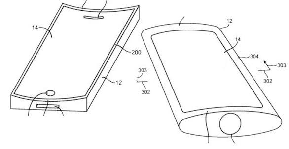 Apple, schermo curvo sul nuovo iPhone?