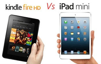 Amazon vs Apple: sfida tra tablet e gridi di battaglia