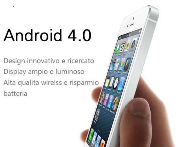 Android iPhone 5