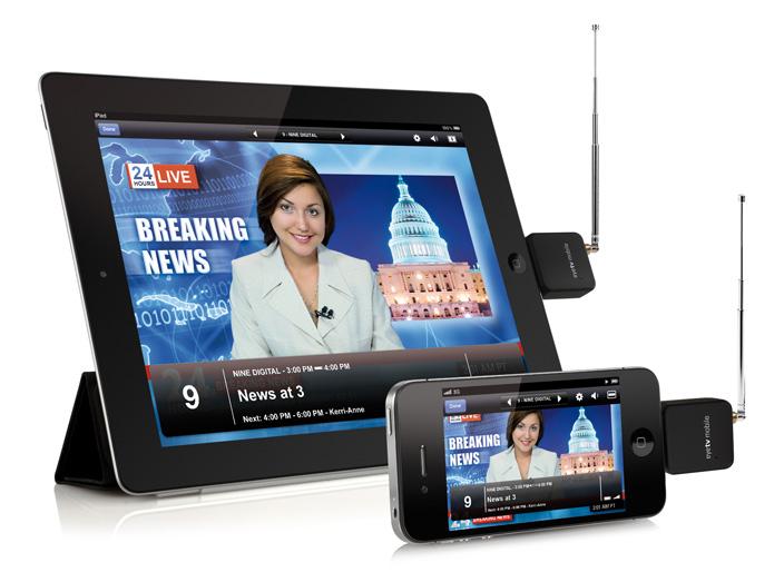 EyeTV iPad iPhone 5