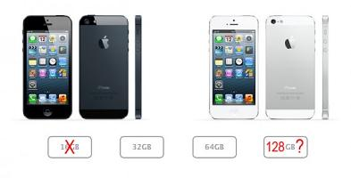 Apple al lavoro per produrre dispositivi da 128 GB?
