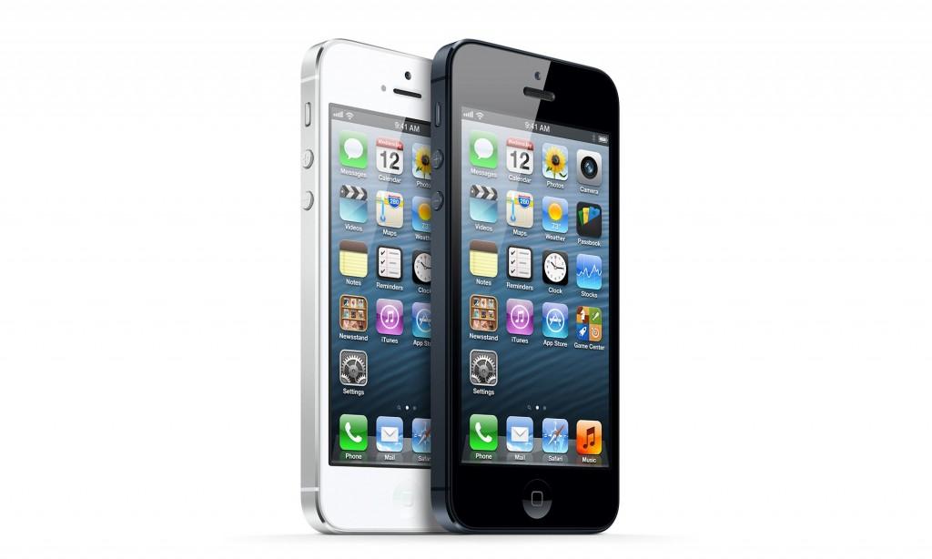 iPhone 5 black white