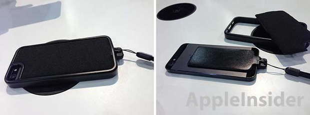 iPhone 5 caricabatterie wireless