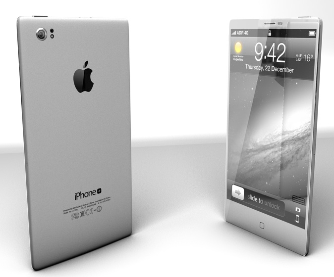iPhone Plus grigio
