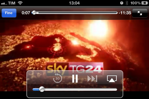 sky tg24 app iphone 5