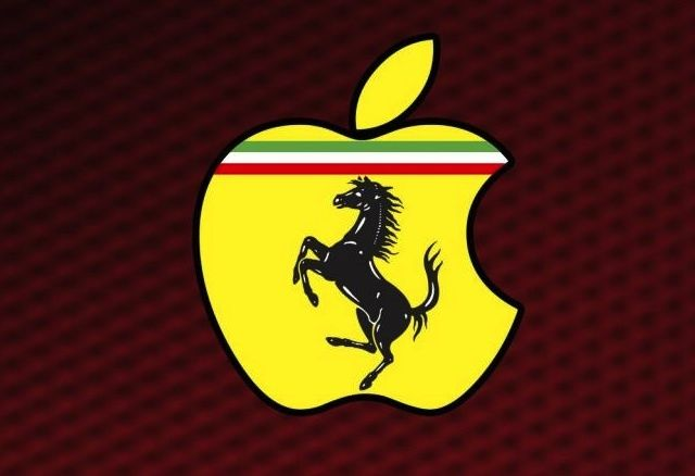 Apple Ferrari