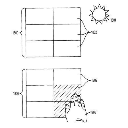 Apple display solare