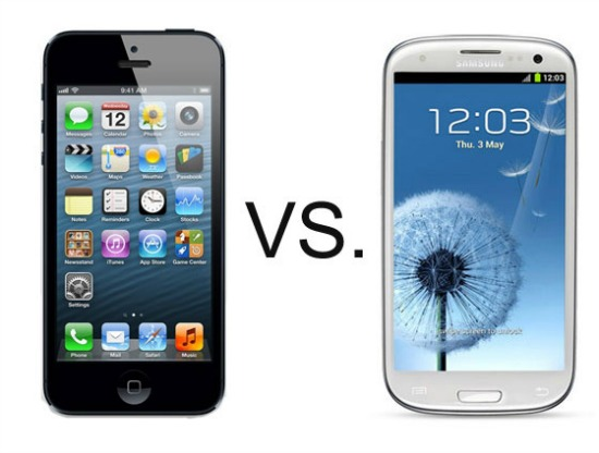 Apple iPhone 5 vs Galaxy S III