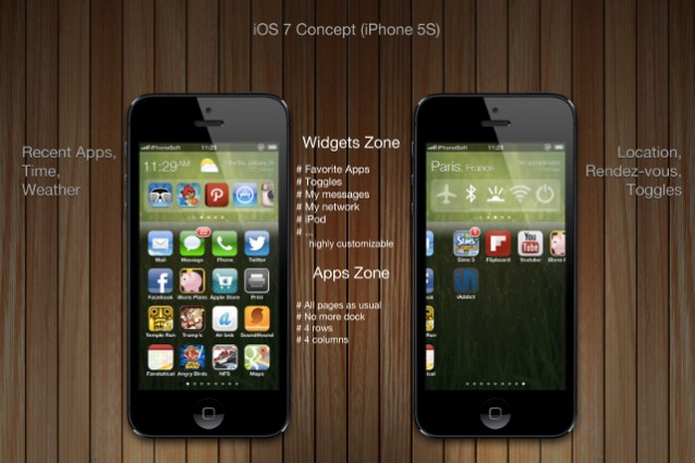 ios 7 concept