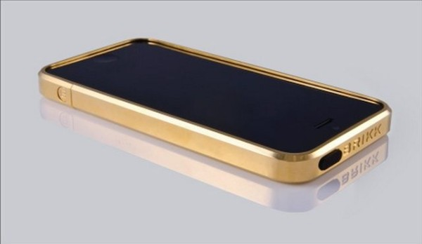 custodia oro iphone 5