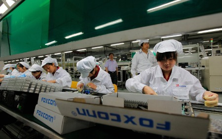 foxconn calo ordini Apple